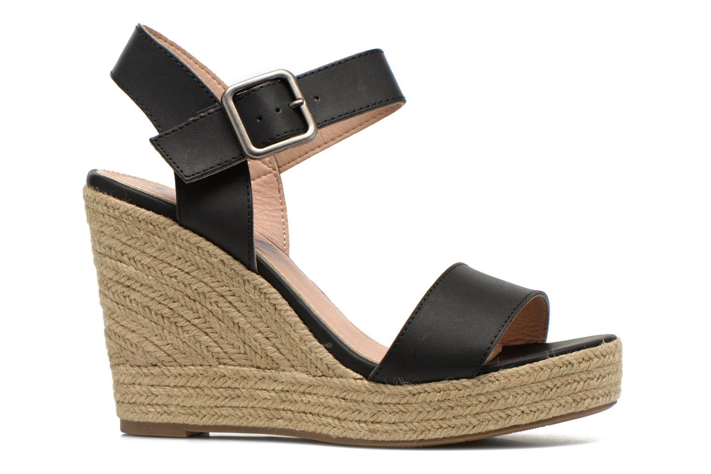 Sandales et nu-pieds Refresh Corail 61772 Noir vue derrière