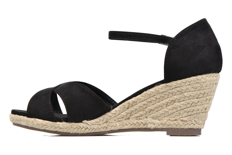 Sandales et nu-pieds Refresh Patelle 62091 Noir vue face