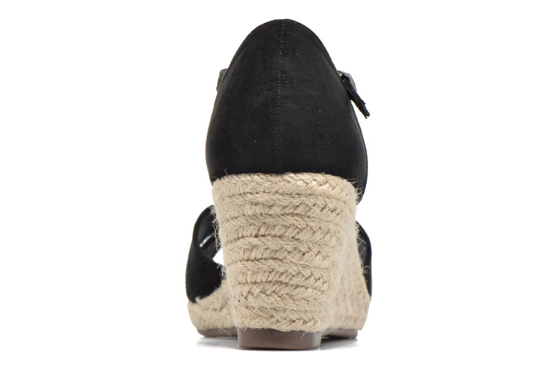 Sandales et nu-pieds Refresh Patelle 62091 Noir vue droite