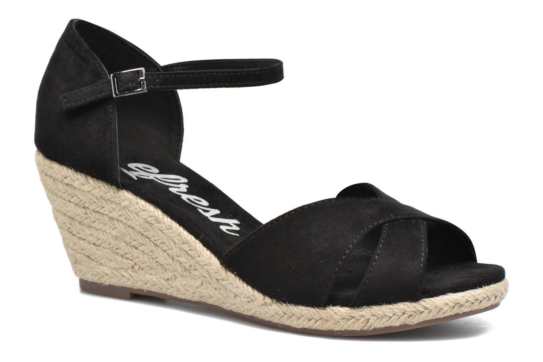 Sandales et nu-pieds Refresh Patelle 62091 Noir vue détail/paire