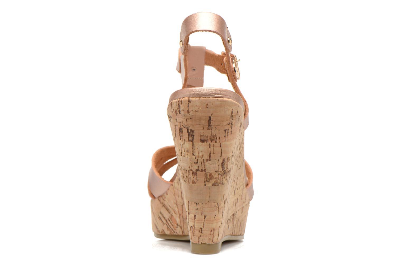 Sandali e scarpe aperte Refresh Jungle 61823 Oro e bronzo immagine destra