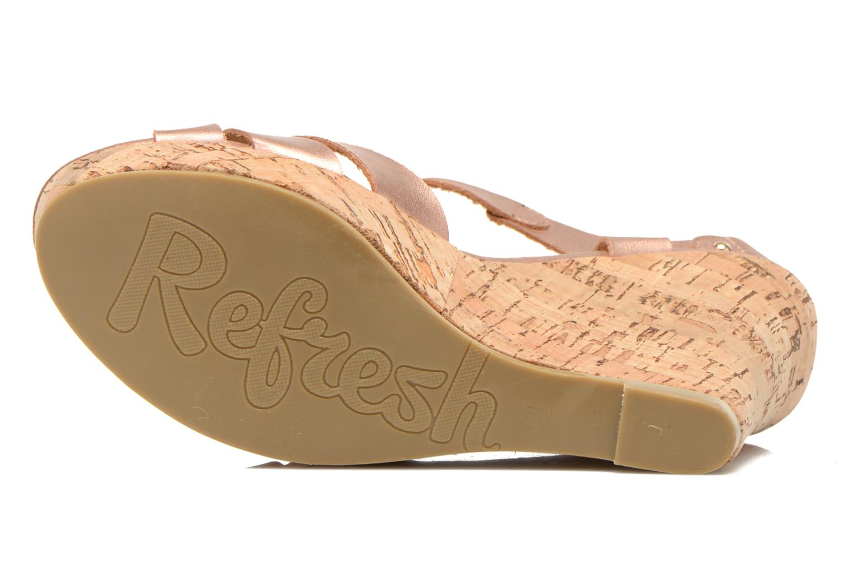 Sandali e scarpe aperte Refresh Jungle 61823 Oro e bronzo immagine dall'alto