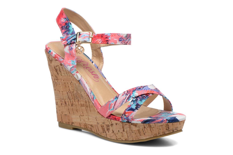 Sandales et nu-pieds Refresh Limonade 61824 Multicolore vue détail/paire