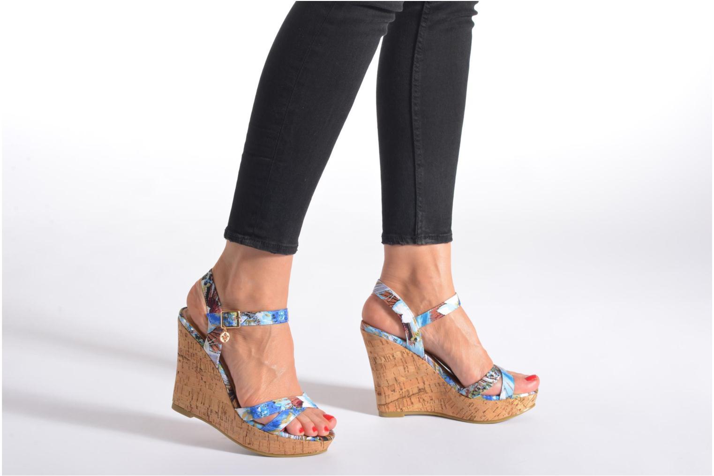 Sandales et nu-pieds Refresh Limonade 61824 Multicolore vue bas / vue portée sac