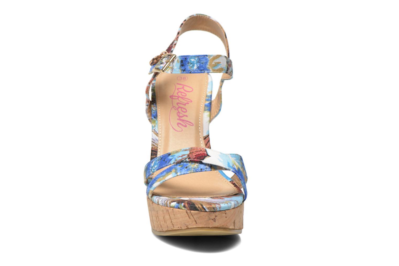 Sandales et nu-pieds Refresh Limonade 61824 Multicolore vue portées chaussures