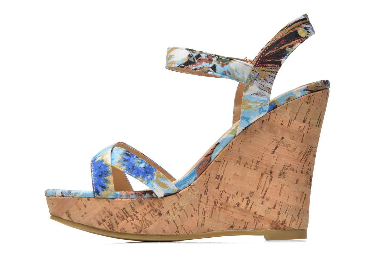 Sandales et nu-pieds Refresh Limonade 61824 Multicolore vue face