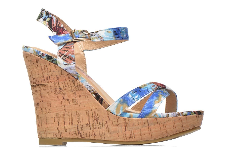 Sandales et nu-pieds Refresh Limonade 61824 Multicolore vue derrière