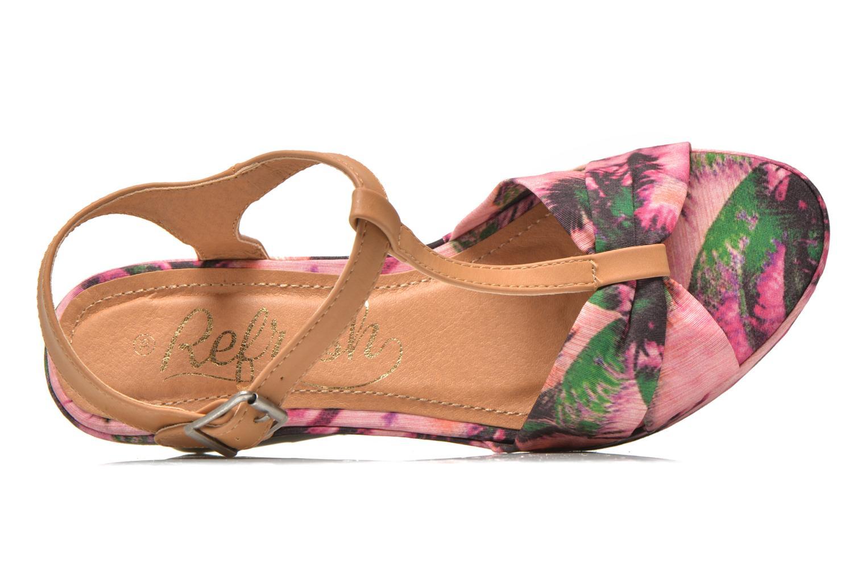Sandali e scarpe aperte Refresh Blue Moon 62085 Rosa immagine sinistra