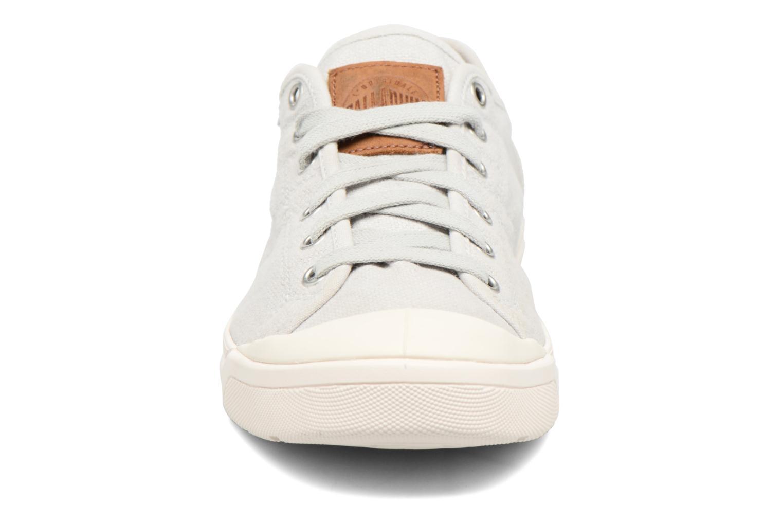 Baskets Palladium Pallarue LC Gris vue portées chaussures