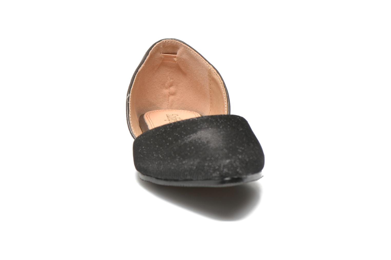 Ballerines Eclipse Ballerine Petra Noir vue portées chaussures