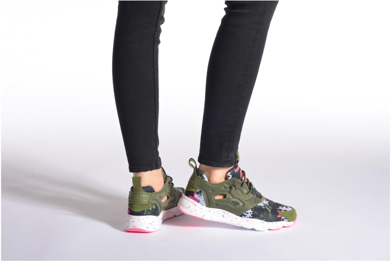 Sneakers Reebok Furylite Np W Verde immagine dal basso