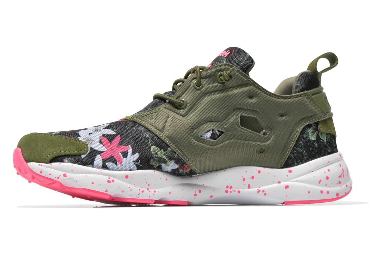 Sneakers Reebok Furylite Np W Verde immagine frontale