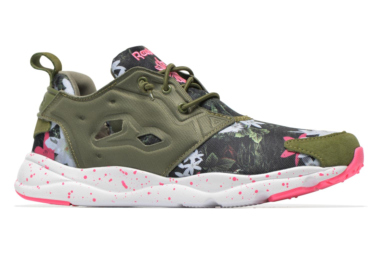 Sneakers Reebok Furylite Np W Verde immagine posteriore