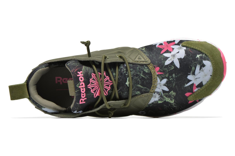 Sneakers Reebok Furylite Np W Verde immagine sinistra