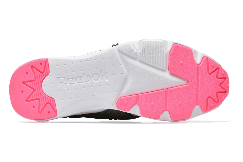 Sneakers Reebok Furylite Np W Verde immagine dall'alto