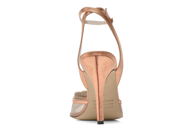 Sandales et nu-pieds Fred Marzo Marguerite Multicolore vue droite