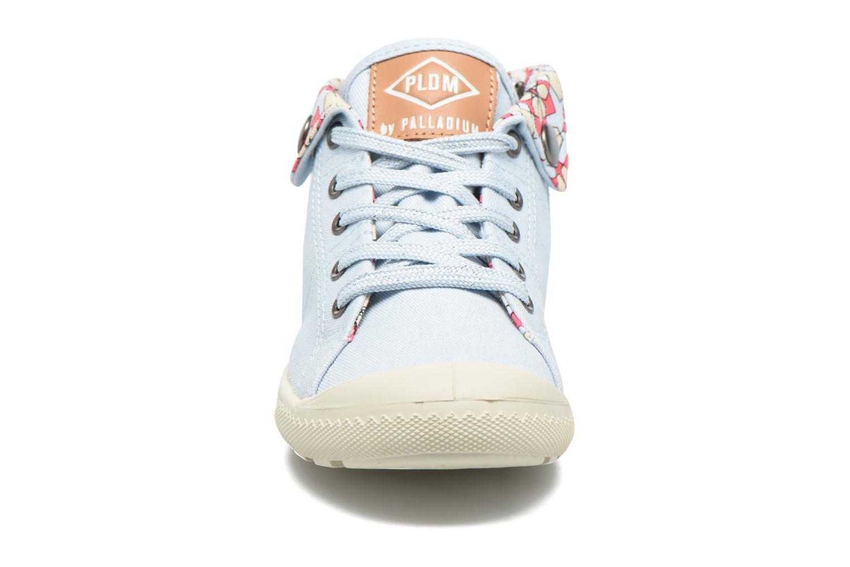 Sneakers P-L-D-M By Palladium Letty Twl Azzurro modello indossato