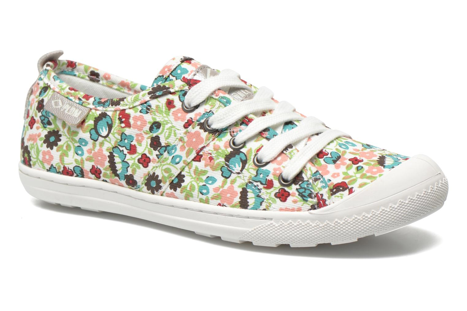 Lina Print White/Flower Multi
