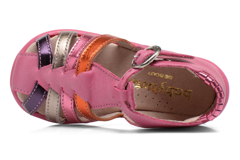 Sandales et nu-pieds Babybotte Guppy1 Rose vue gauche