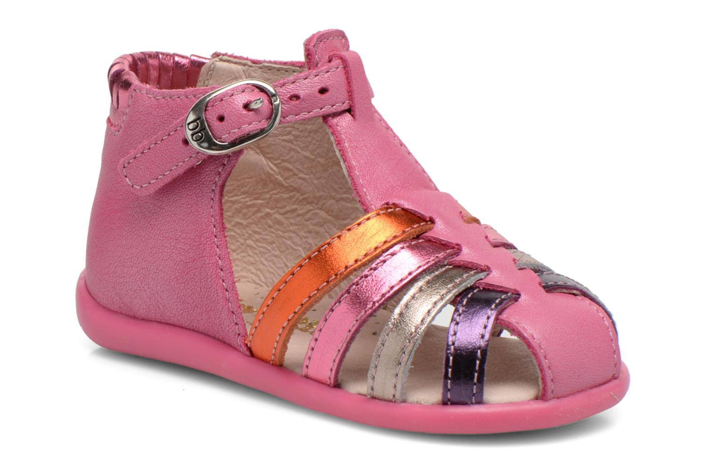 Sandales et nu-pieds Babybotte Guppy1 Rose vue détail/paire