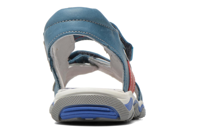 Sandales et nu-pieds Babybotte Karibou Bleu vue droite