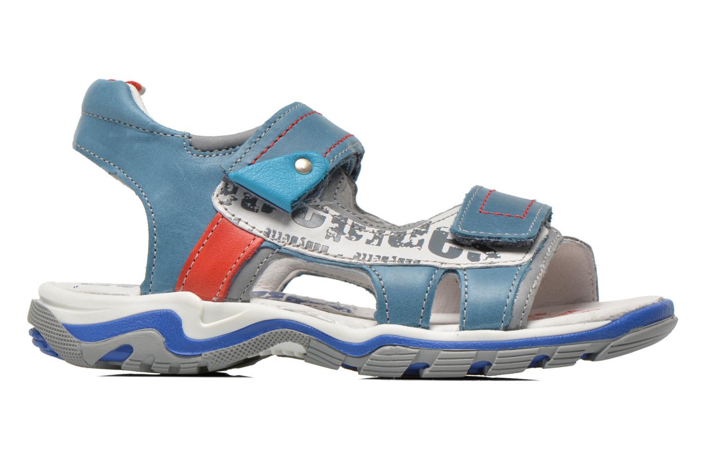 Sandales et nu-pieds Babybotte Karibou Bleu vue derrière
