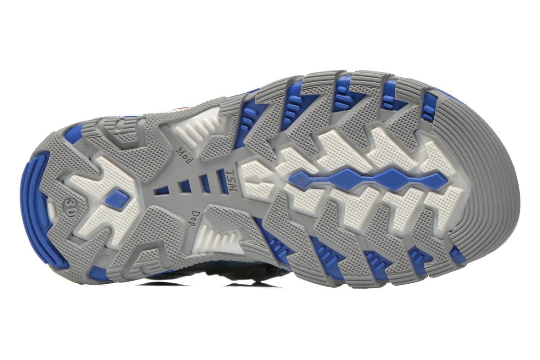 Sandales et nu-pieds Babybotte Karibou Bleu vue haut