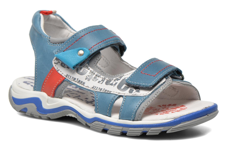 Sandales et nu-pieds Babybotte Karibou Bleu vue détail/paire