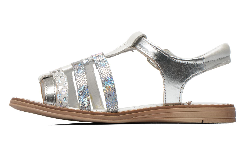 Sandales et nu-pieds Babybotte Kiri1 Blanc vue face
