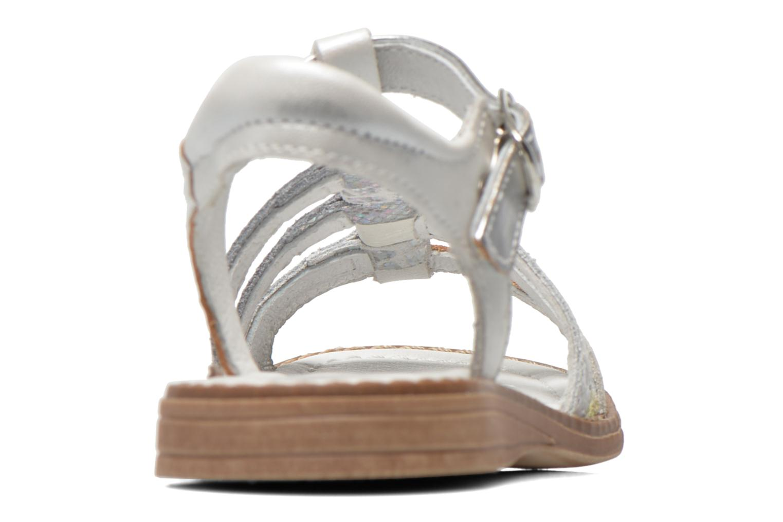 Sandales et nu-pieds Babybotte Kiri1 Blanc vue droite
