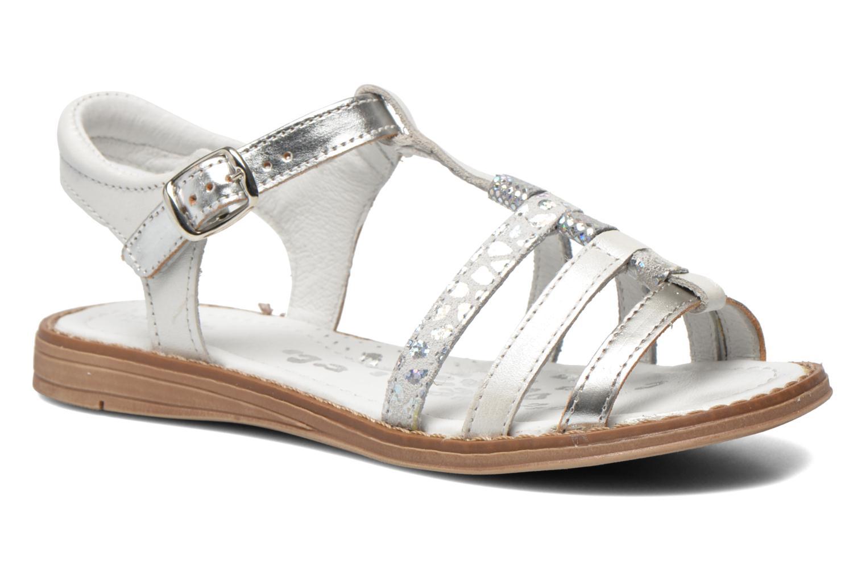 Sandales et nu-pieds Babybotte Kiri1 Blanc vue détail/paire