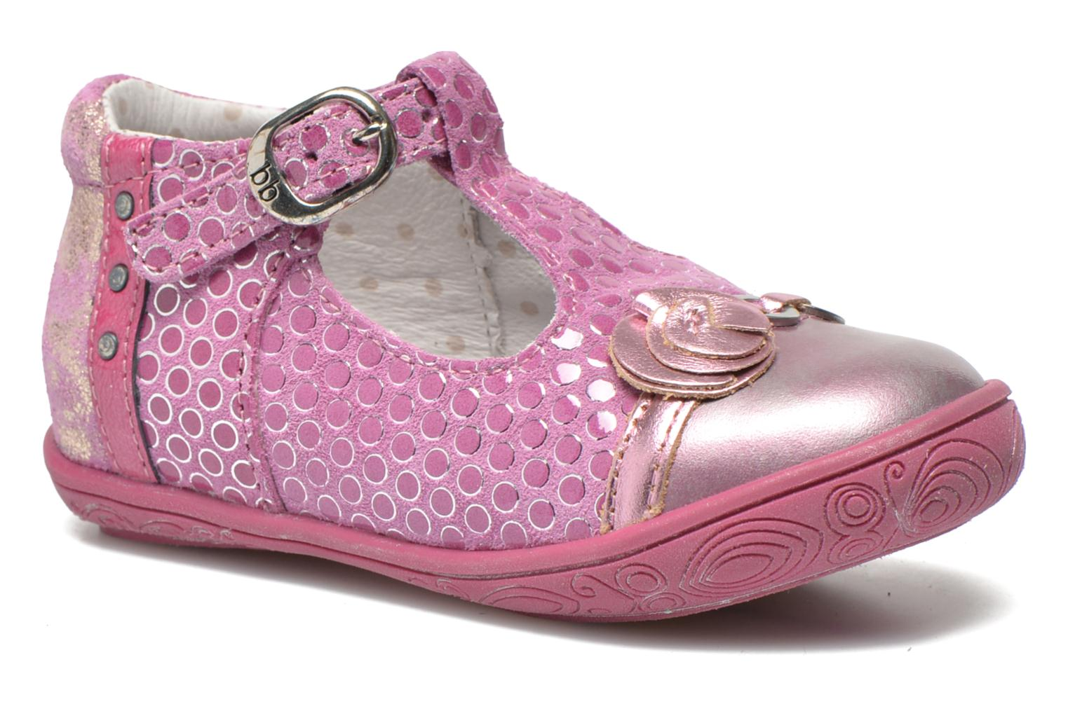 Ballet pumps Babybotte Shipiron Pink detailed view/ Pair view