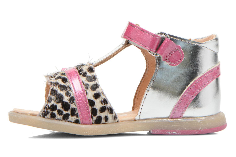 Sandali e scarpe aperte Babybotte Tika Argento immagine frontale