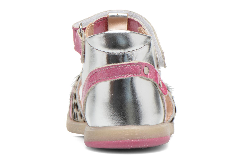 Sandali e scarpe aperte Babybotte Tika Argento immagine destra