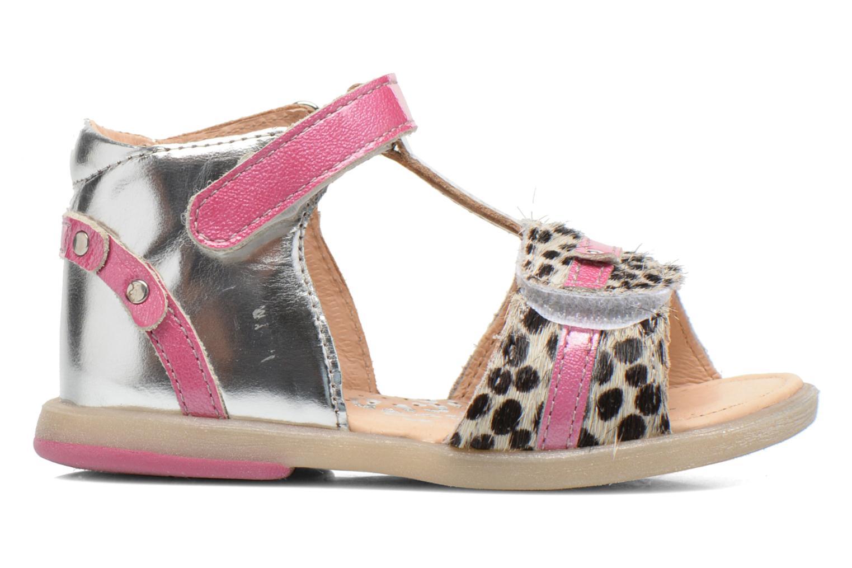 Sandali e scarpe aperte Babybotte Tika Argento immagine posteriore