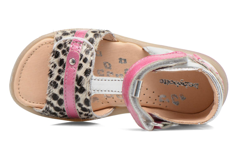 Sandali e scarpe aperte Babybotte Tika Argento immagine sinistra