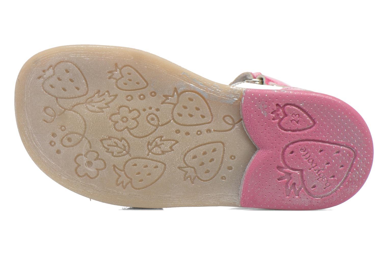 Sandali e scarpe aperte Babybotte Tika Argento immagine dall'alto