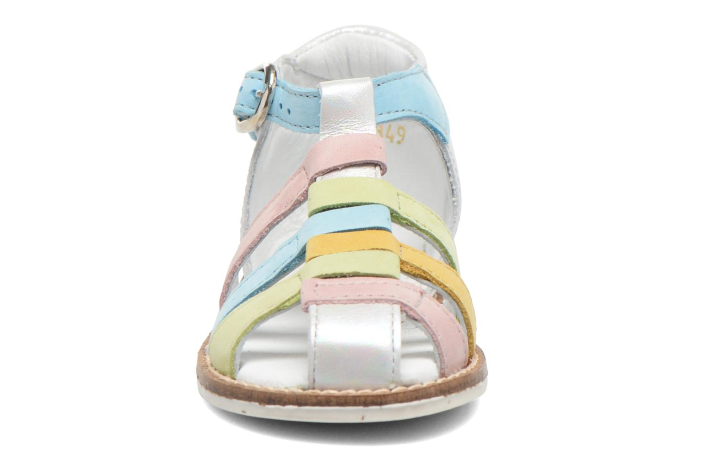 Sandales et nu-pieds Babybotte Toucan2 Multicolore vue portées chaussures