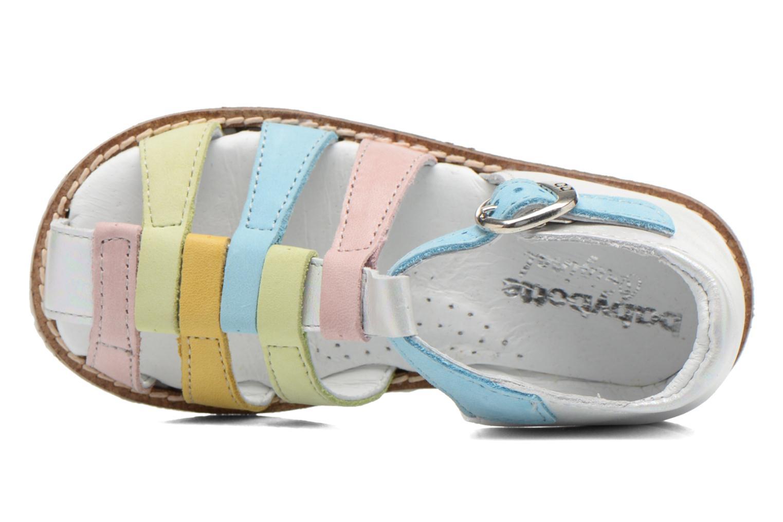 Sandales et nu-pieds Babybotte Toucan2 Multicolore vue gauche
