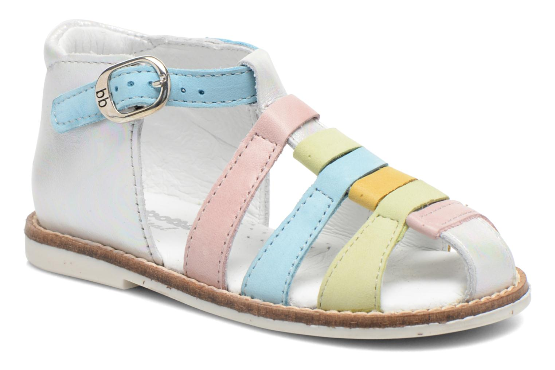 Sandales et nu-pieds Babybotte Toucan2 Multicolore vue détail/paire