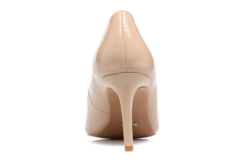 Zapatos de tacón Buffalo Lèv Beige vista lateral derecha