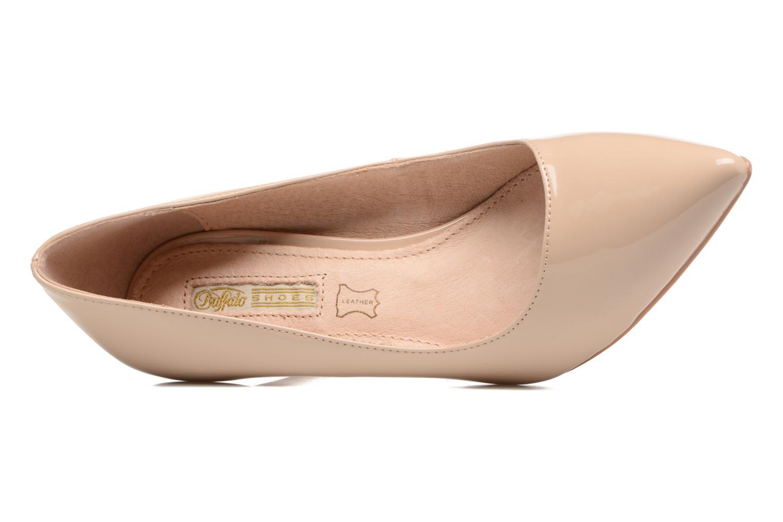 Zapatos de tacón Buffalo Lèv Beige vista lateral izquierda