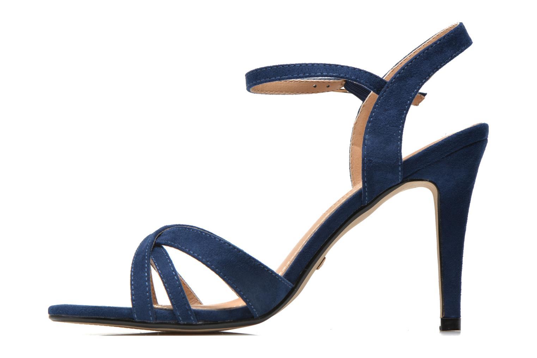 Sandales et nu-pieds Buffalo Loel Bleu vue face