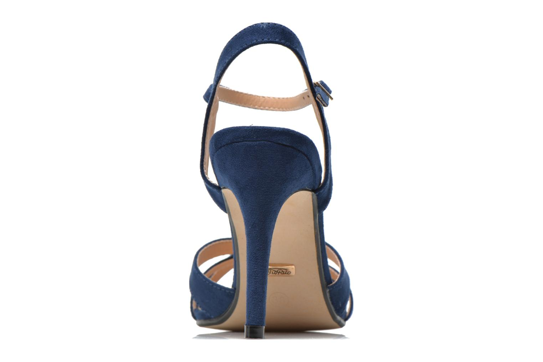 Sandales et nu-pieds Buffalo Loel Bleu vue droite