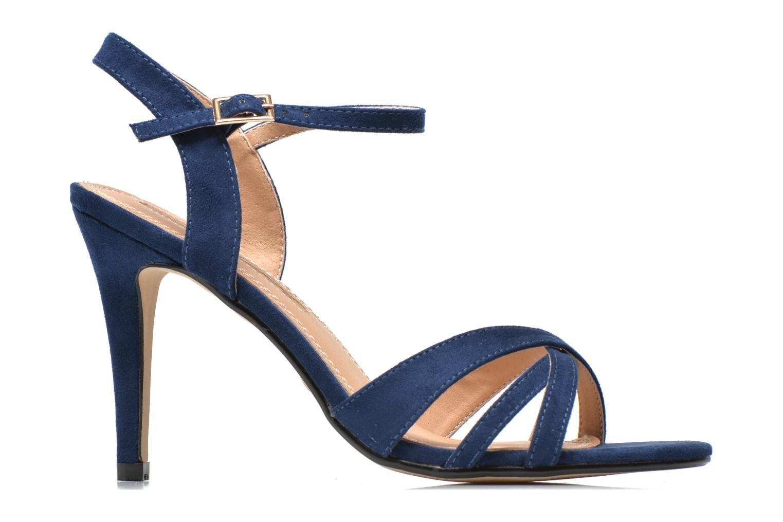 Sandales et nu-pieds Buffalo Loel Bleu vue derrière
