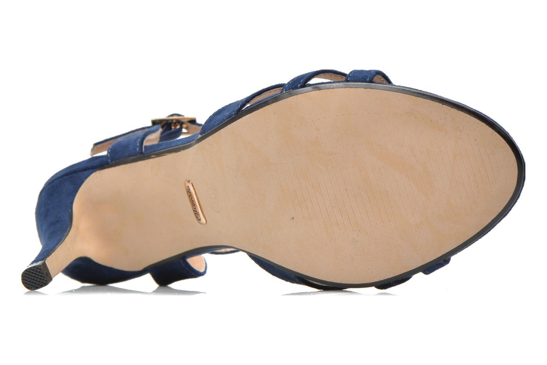 Sandales et nu-pieds Buffalo Loel Bleu vue haut