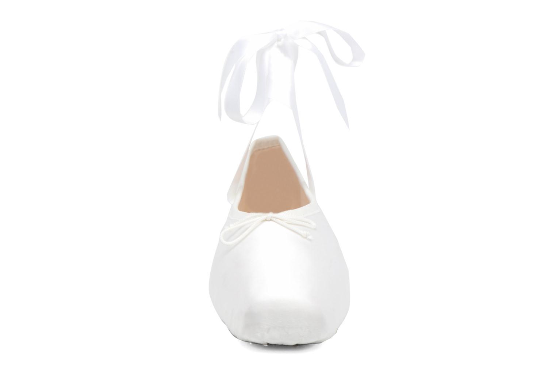 Ballerines Opéra national de Paris Paris Blanc vue portées chaussures