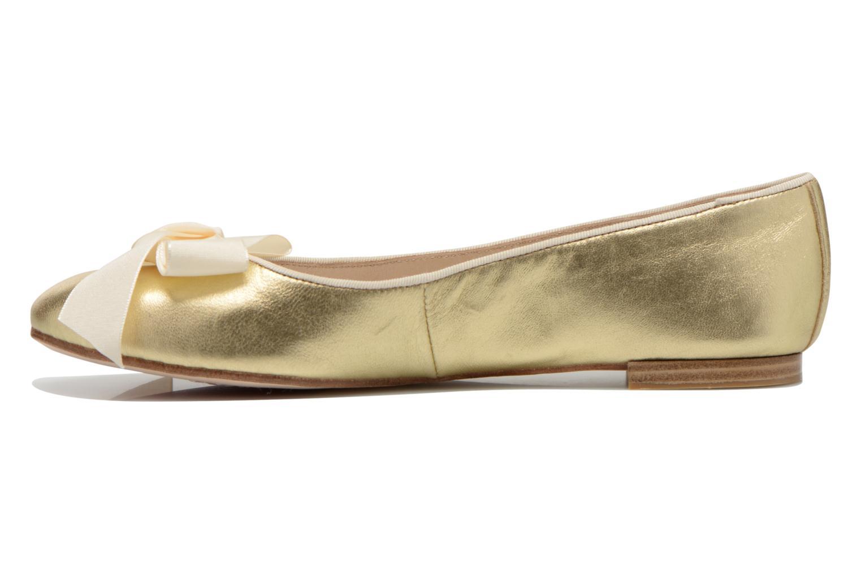 Ballerines Opéra national de Paris Endol Or et bronze vue face