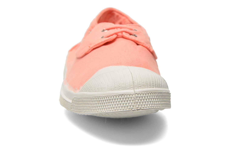Baskets Bensimon Tennis bateau Orange vue portées chaussures