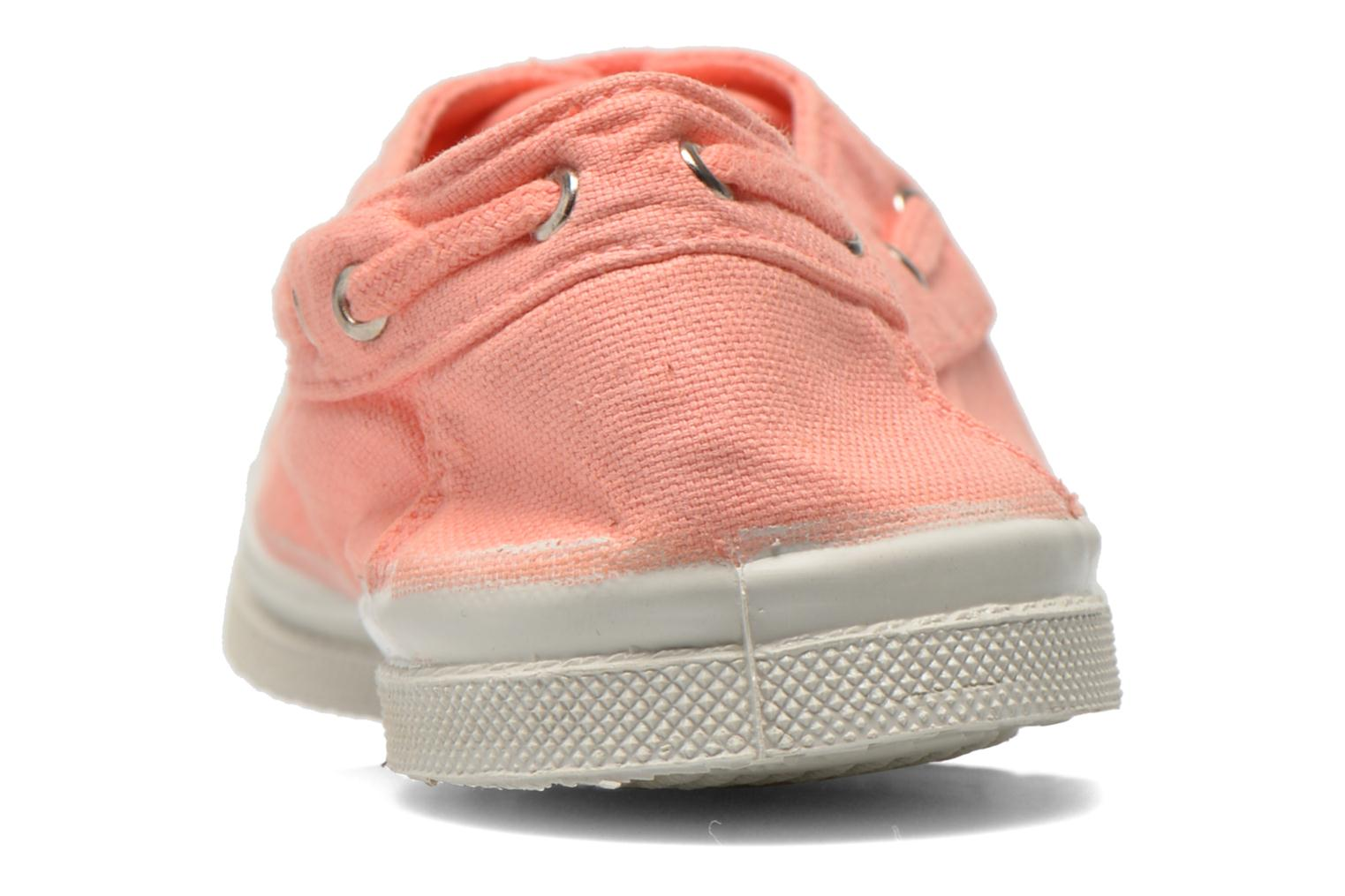 Trainers Bensimon Tennis bateau Orange view from the right